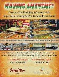 Catering Pamphlet Template Flyers Event Flyer Angelmartinez Co