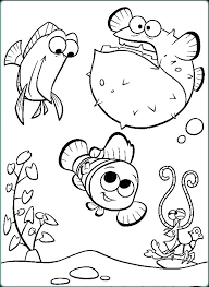 Coloring Pages Finding Nemo Coloring Sheets Free Dory Pages For