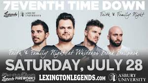 Whitaker Bank Ballpark Seating Chart Concert Legends Announce Faith Family Night Presented By Asbury