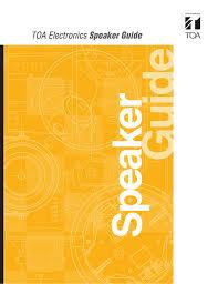 Toa Speaker Guide