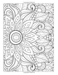 Free Adult Flower Coloring Pages Printable 3089 Adult Flower