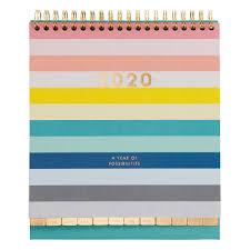 2020 Desk Calendar Inspiration