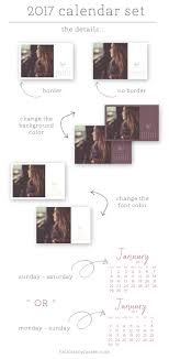 custom calendar templates the 2017 calendar set tracy larsen
