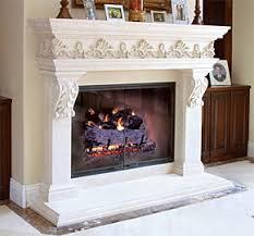 Cast Stone Fireplace Mantels  Precast Surrounds  FauxCast Fireplaces
