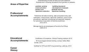 92 Phlebotomist Resume Sample No Experience Best Ideas