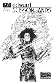 idw exclusives for nycc bleeding cool news and rumors edwardscissorhands01 re nycc