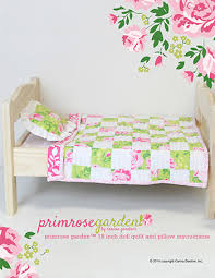 Primrose Garden 18 inch Doll Quilt and Pillow Pattern—Free Download | & To celebrate my first ever 18 inch doll panels, I have a free 18 inch doll  quilt and pillow pattern ... Adamdwight.com