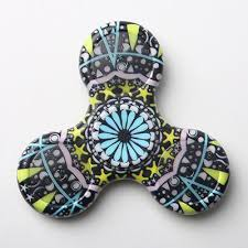 Fidget Spinner Pattern New Amazing LED Fidget Spinner With 48 Unique Patterns Secret Gifts