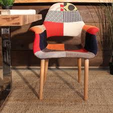 saarinen organic chair. Eames \u0026 Saarinen Patchwork Organic Chair - Wazo Furniture