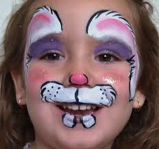 full size of coloring page alluring painted bunny faces cat face makeup for