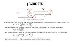 3 wire rtd bridge facbooik com Rtd Connection Diagram 2wire Vs 3 Wire cr4 thread three wire rtd connection