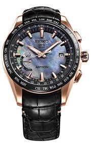 amazon com mens seiko astron gps solar world time rose gold mens seiko astron gps solar world time rose gold titanium limited edition watch sse105 novak djokovic
