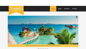 Travel Templates Free Travel Website Templates Download Html And Css Travel Templates
