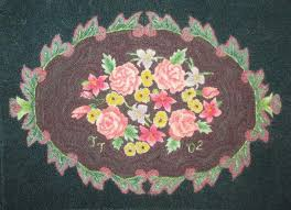 little house rugs between now and november 25 2018 you will be entered to win this antique flower rug a 550 value hand hooked with handspun and