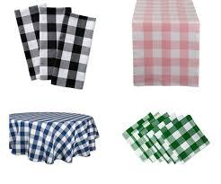 dii cotton buffalo check oversized basic cloth napkin for everyday place setting