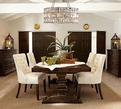dining room pendant lighting. transitional dining room with banks extending table pendant light hayes tufted chair lighting