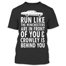 Run Like The Winchesters Crowley Behind You Supernatural Winchester ...