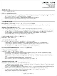 Executive Assistant Resume Objectives Dew Drops