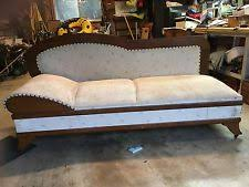 vintage fainting couch. Antique Golden Oak Daybed, Fainting Couch Vintage F