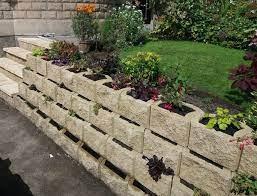 terraforce retaining wall blocks help