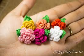 Small Crochet Flower Pattern Interesting Inspiration
