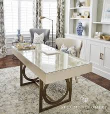 neutral office decor. home office neutral with comfortable furniture ideas desk chairs draperies decor