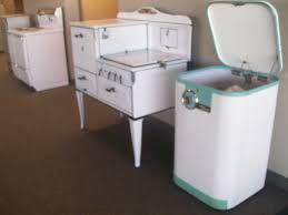 Congenial Or Retro Appliances Vintage Appliance Warner Stellian Appliance  Plus Vintage Stoves in Retro Kitchen Appliances