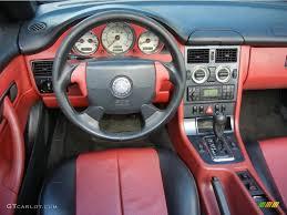1999 Mercedes-Benz SLK 230 Kompressor Roadster Salsa Red Dashboard ...