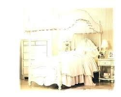 White Canopy Bed Frame Full Size Of Twin Canopy Bed Frame Plans ...