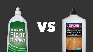 weiman hardwood floor cleaner vs regular floor cleaners