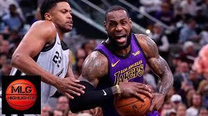 Los Angeles Lakers vs San Antonio Spurs Full Game Highlights | 12.07.201...  | Lakers vs, San antonio spurs, Los angeles lakers