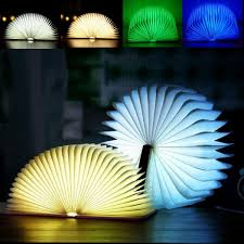 Mood Lamp Book Light Camping Decoration Aled Light Color Changing Led Book Light