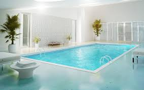 Indoor Olympic Swimming Pool Hd Wallpaper Indoor Swimming Pool in ...