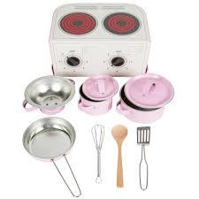 Kids Kitchen Cooking Box Set Pastel Pink Default Image