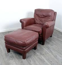leather chair and ottoman natuzzi white sofa costco