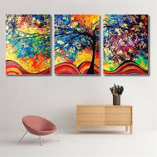 canvas paintings for sale. 3Pcs Abstract Canvas Print Wall Art Paintings For Sale