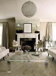 ... modern glamour living room 14 ...