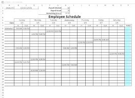 6 Week Work Schedule Template Free Excel Schedule Template Excel Shift Template Report Schedule