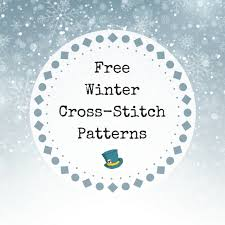 9 Free Winter Cross Stitch Patterns You Can Download And