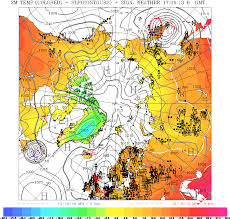 surface pressure charts meteorological charts analysis forecast north atlantic europe