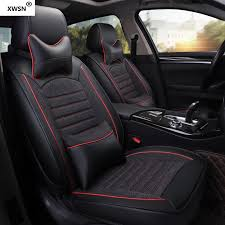 leather linen car seat cover for vw polo accessories pat b6 b7 b8 b5 vw golf 5 golf 6 7 touran tiguan jetta car accessories