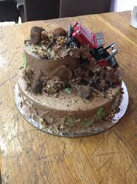 Gone Muddin Cake Is Chocolate With Chocolate Buttercream Icing