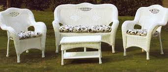 Top White Wicker Outdoor Furniture Clearance With White Wicker