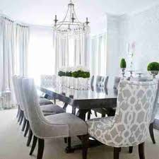 interiors grey fabric dining room chairs designs of well ideas about on minimalist