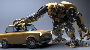wallpaper 1920x1080 robot, car, wreck ...