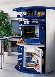 Compact Kitchen Revolving Circle Compact Kitchen Idesignarch Interior Design