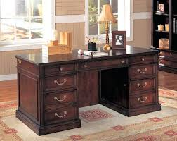 wood home office desks. Adorable Home Office Desk Furniture Wood Small Executive Throughout Desks For Ideas Oversized Loft Cherry Double Pedestal With Regard To Remodel 5