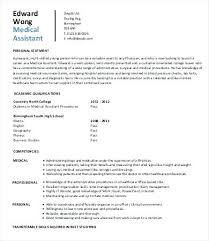 Medical Assistant Resume Templates Medical Assistant Resume Sample ...