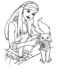Small Picture colorwithfuncom Barbie Coloring Pages Online Arc art