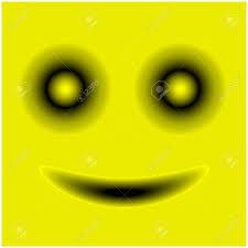 Smiley Face Stock Vector Template Design